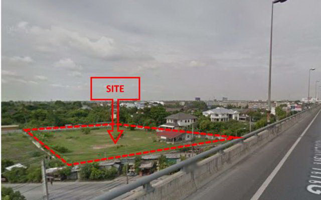 Land for Sale 3.6 rai on Borommaratchachonnani Road