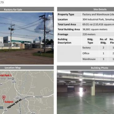 Factory and Warehouse for sale 304 IE