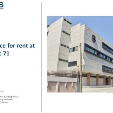 Office Space for rent at Sukhumvit 71